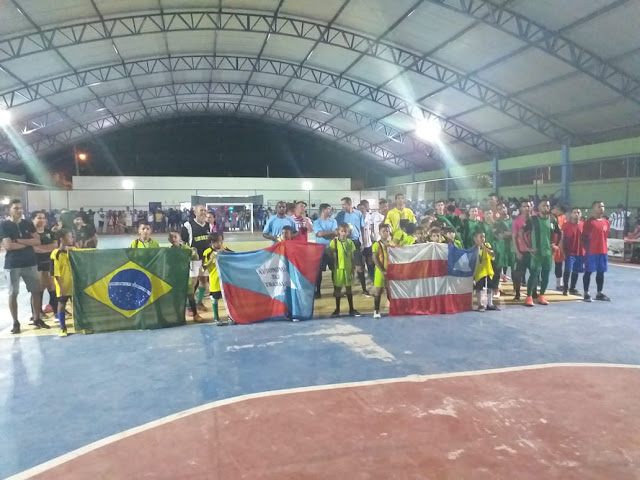 Lagoa Real realizou final do Campeonato Municipal de Futsal