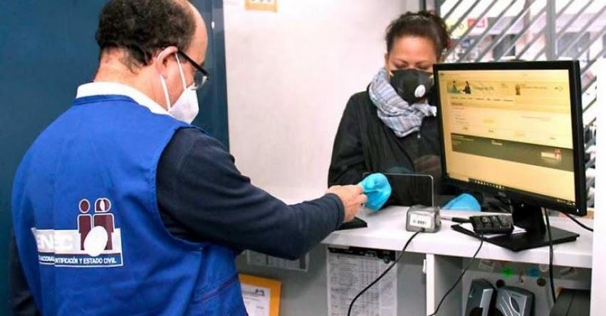 TRÁMITES RENIEC: Amplían capacidad de atención para entrega del DNI antes de las elecciones - www.reniec.gob.pe