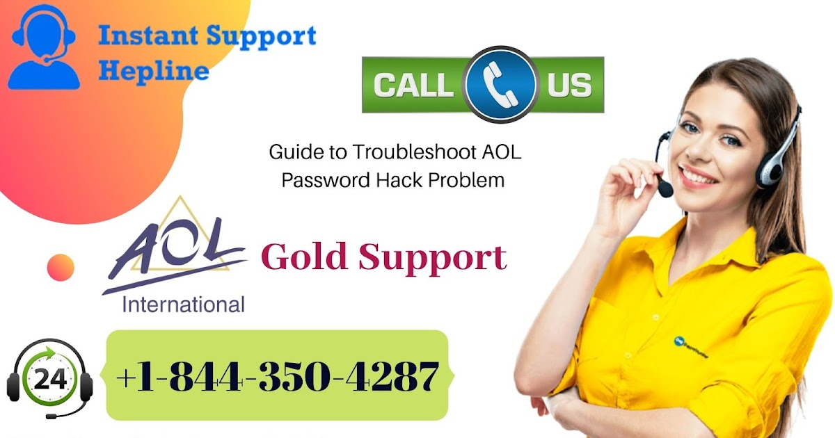 Fix AOL Password Hack Issue - AOL Gold Support