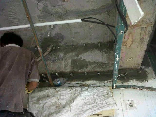Injeksi Beton Bocor Retak Keropos Tukang Perbaikan
