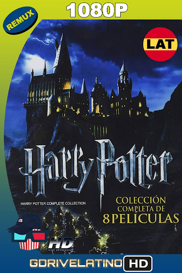 Harry Potter [Saga Completa] BDRemux 1080p Latino-Ingles MKV