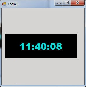 Cara Membuat Jam Digital dengan Visual Basic 2010 Lengkap