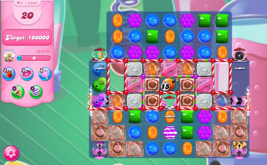 Candy Crush Saga level 6202