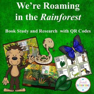 We're Roaming in the Rainforest book study