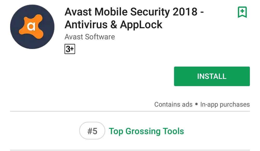 Avast Mobile Security Google Play Download