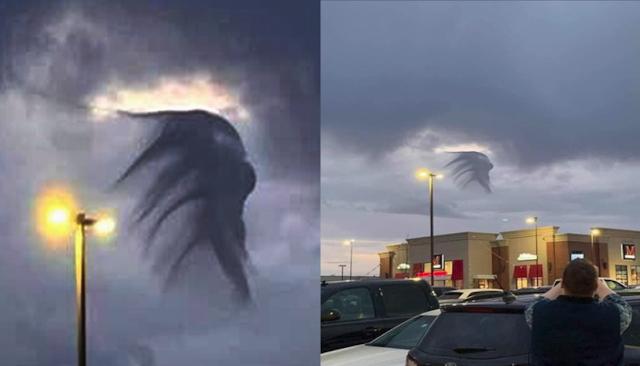 Misteriosa nube es captado en Tulsa Oklahoma