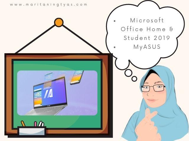 myAsus di laptop Asus