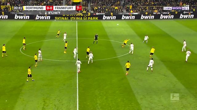 Borussia Dortmund vs Eintracht Frankfurt Live Score