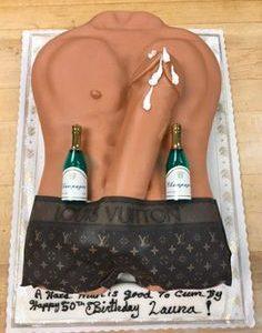 A Bachelorette Party Penis Cake Photo