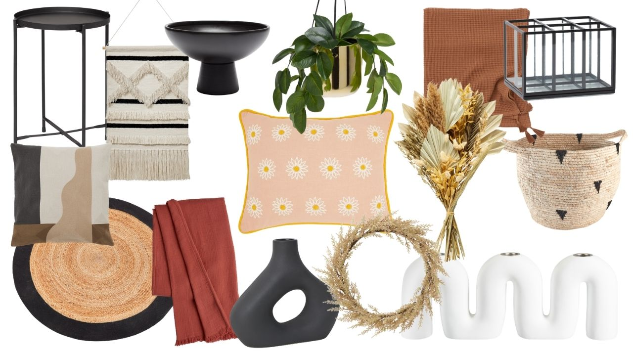 Home decor inspiration for Autumn Fall 2021. From accessories to cushions and throws, how to update your house on a budget. Autumn/Winter 2021interior