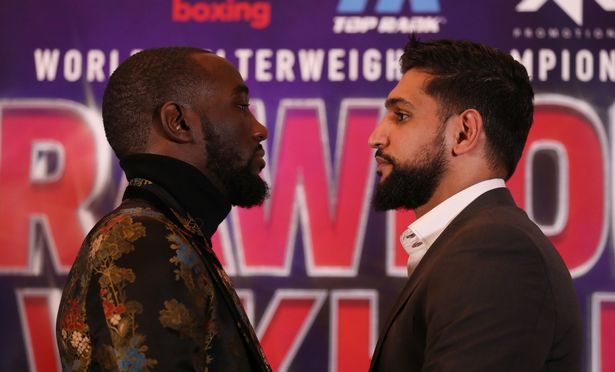 Terence Crawford Vs Amir Khan