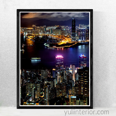 Buy City Skyline Wall Art for Your Homes here in Port Harcourt, Nigeria