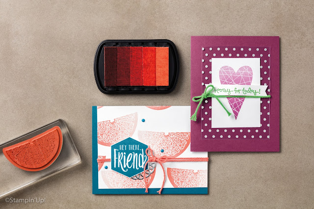 Ombre Stamp Pads, Stampin' Up!