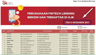 Cek apakah Aplikasi Pinjaman Online Sudah Terdaftar di OJK