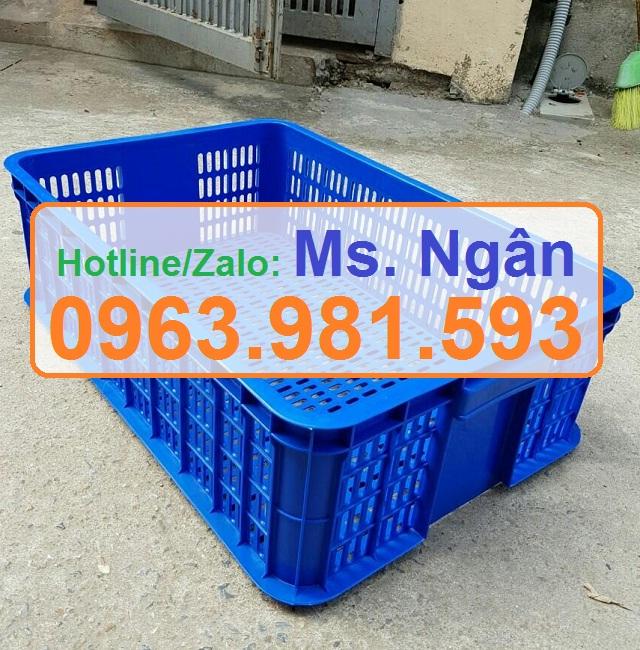 Sọt nhựa rỗng HS009, sóng nhựa hở HS009 giá rẻ tại Hà Nội, sóng nhựa rỗng HS009, sọt nhựa cao 19 cm,