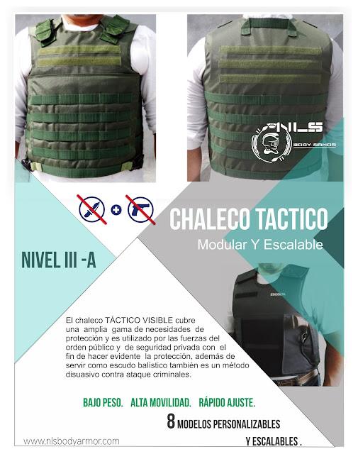 Chalecos Blindados  con proteccion Balistica  para Escoltas, Guardas de seguridad y Policias de fuerzas especiales.