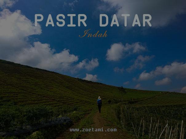 Info Tentang Wisata Pasir Datar Sukabumi