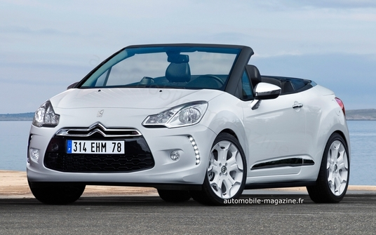 citroen will launch in 2013 ds3 convertible airflow garage car. Black Bedroom Furniture Sets. Home Design Ideas