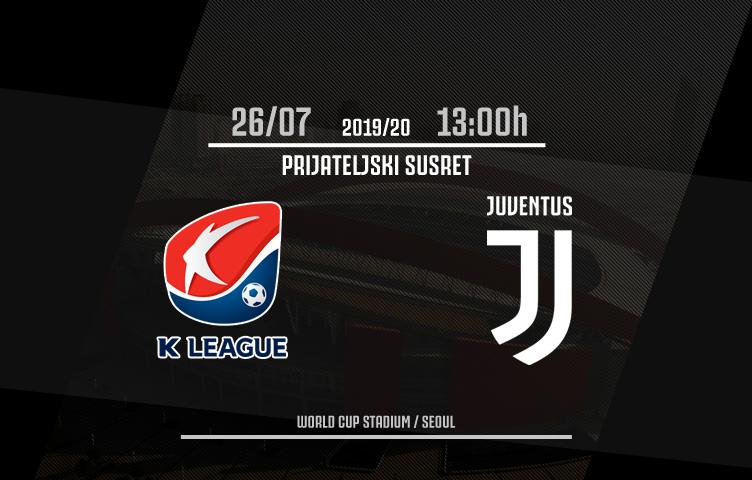 Prijateljska utakmica / Team K-League - Juventus, petak, 13:00h