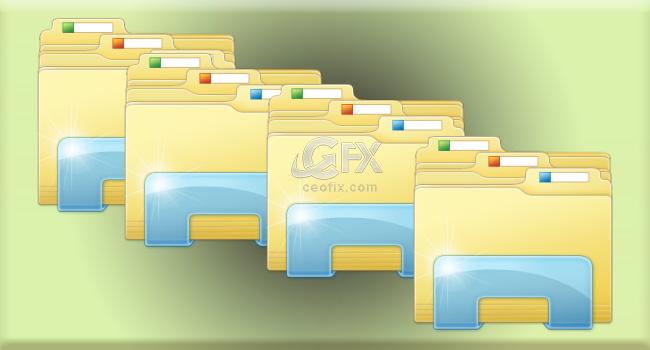 Windows 10'da Her Bir Klasörü Aynı Yada Yeni Pencerede Aç - www.ceofix.com