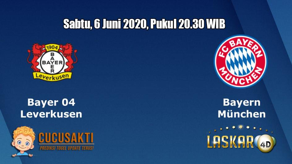 Prediksi Bayer Leverkusen VS Bayern Munchen 6 Juni 2020