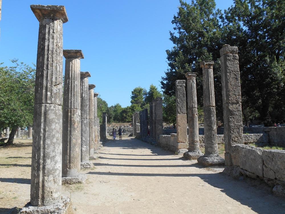 Olimpia dove la storia dei giochi ebbe inizio