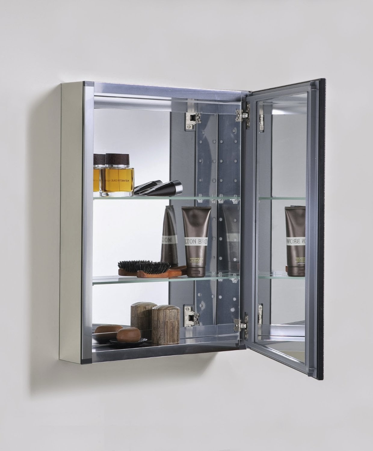 Kohler K 2967 20 X 26 Clic Aluminum Medicine Cabinet With Oil Rubbed Bronze Framed Mirror