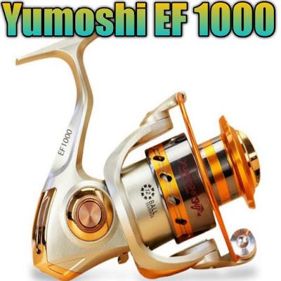 reel yumoshi dengan 12 ball bearing harganya murah