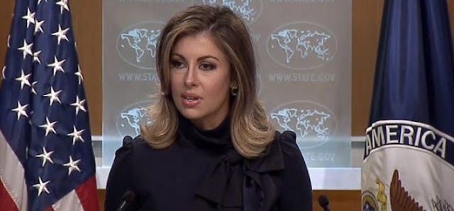 The United States expresses concern over the recent Indian brutality in Kashmir