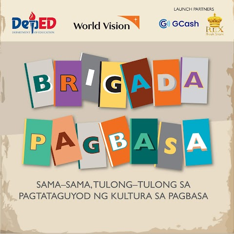 "World Vision and DepEd Teams Up for National Reading Month with ""Brigada Pagbasa"" Project"