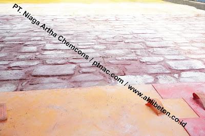 Hasil Akhir Stamp Concrete
