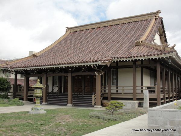 San Jose Buddhist Church Betsuin in Japantown in San Jose, California