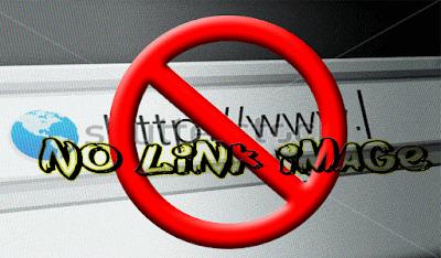 menghilangkan link gambar di blog