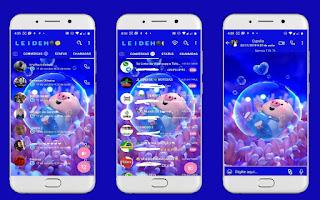Little Pig Theme For YOWhatsApp & Fouad WhatsApp By Leidiane
