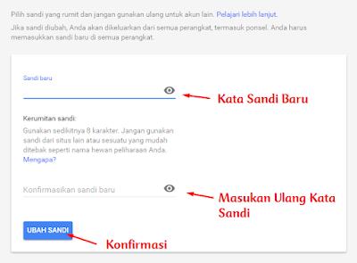 Cara Simple dan Cepat Mengganti Password Gmail 3