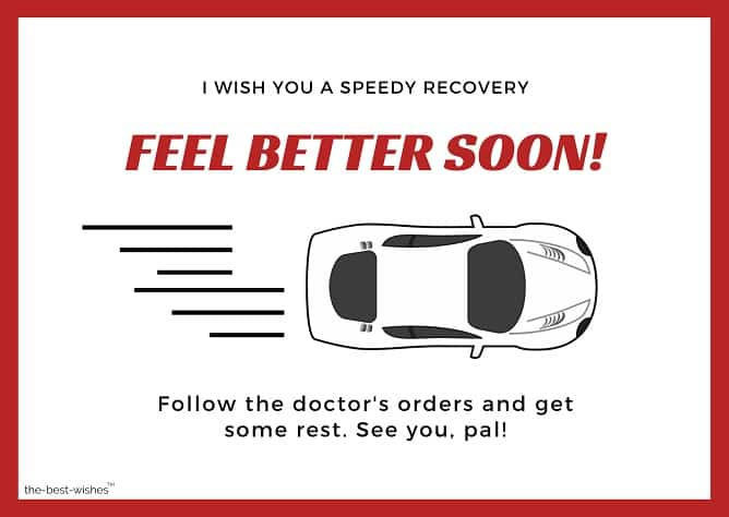 get well soon messages after car accident