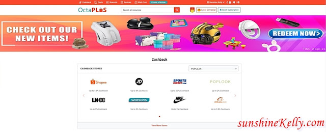 Top 6 MCO Essentials, Watsons Online, Earn OctaPLUS Cashback, Cashback, OctaPlus, OctaPlus Cashback, Online Shopping, Lifestyle