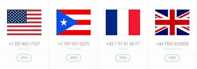 مواقع تقدم أرقام أمريكية مجانية لاستقبال الرسائل