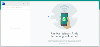 WhatsApp-Web-SS WhatsApp for PC terbaru Desember 2017, versi 0.2.7315 Technology