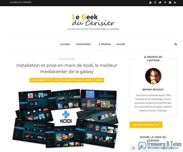 Le site du jour : Le Geek du Cerisier