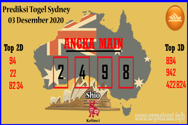 Syair Sydney 3 Desember 2020