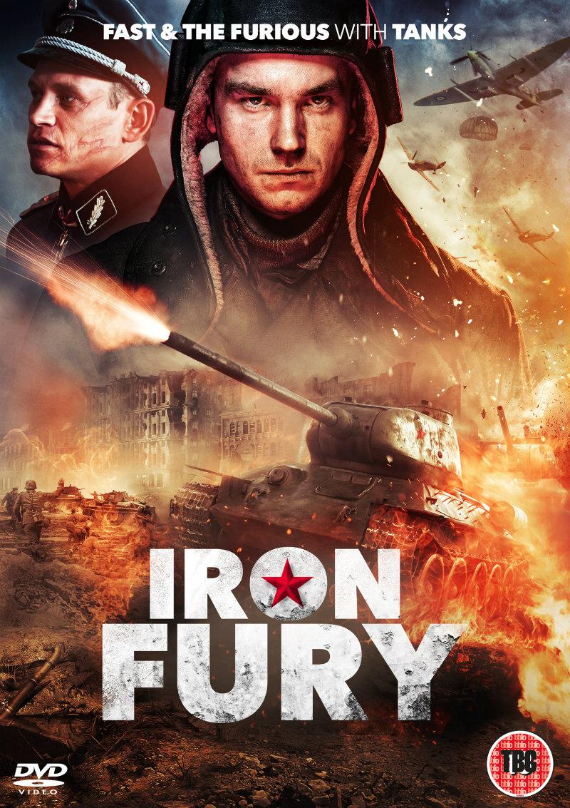 iron fury dvd