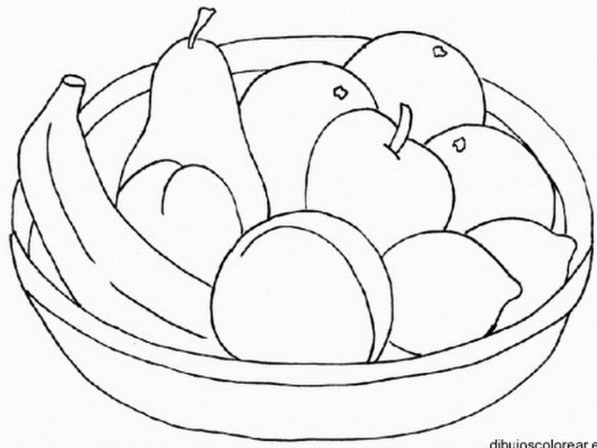 Dibujos bodegon de frutas - Imagui