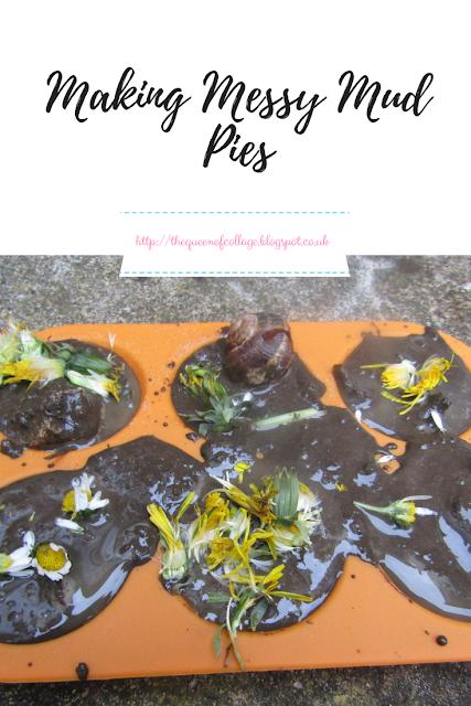 Making Messy Mud Pies