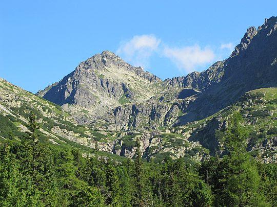 Szczyrbskiego Szczytu (słow. Štrbský štít, niem. Csorbaer Spitze, węg. Csorbai-csúcs; 2381 m n.p.m.).