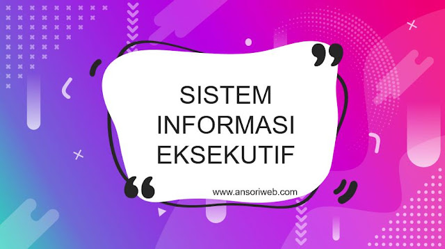 Pengertian Sistem Informasi Eksekutif : Karakteristik dan Contohnya
