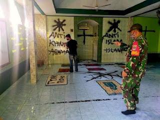Pelaku Vandalisme dan Penyobek Al-quran di Tangerang Berhasil Ditangkap, Diduga Gangguan Jiwa?