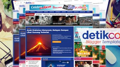 Download & Beli Template Blogger Mirip detikCOM [DetikCOY dan detikWEB]