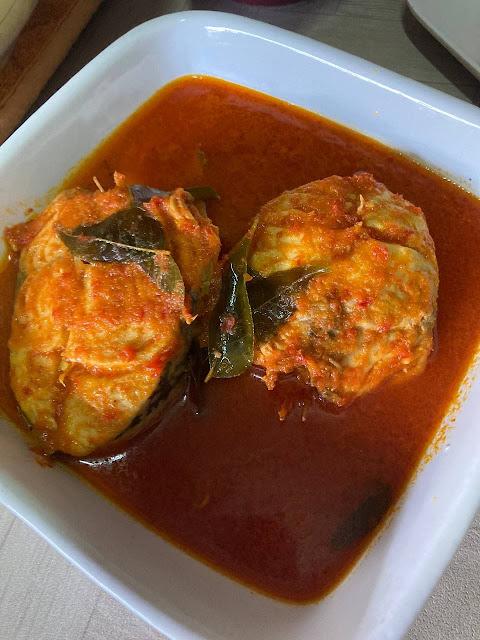 Resepi Asam Pedas Ikan Tenggiri Style Mak Alang