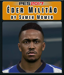 PES 2017 Faces Éder Militão by Sameh Momen